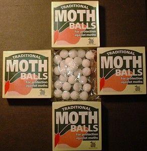 Cómo deshacerse de los ratones usando bolas de naftalina | pon naftalina por toda la casa