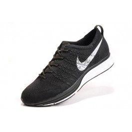 Nike Flyknit Trainer+ Unisex Sko Svart Hvit | Nike billige sko | kjøp Nike sko på nett | Nike online sko | ovostore.com