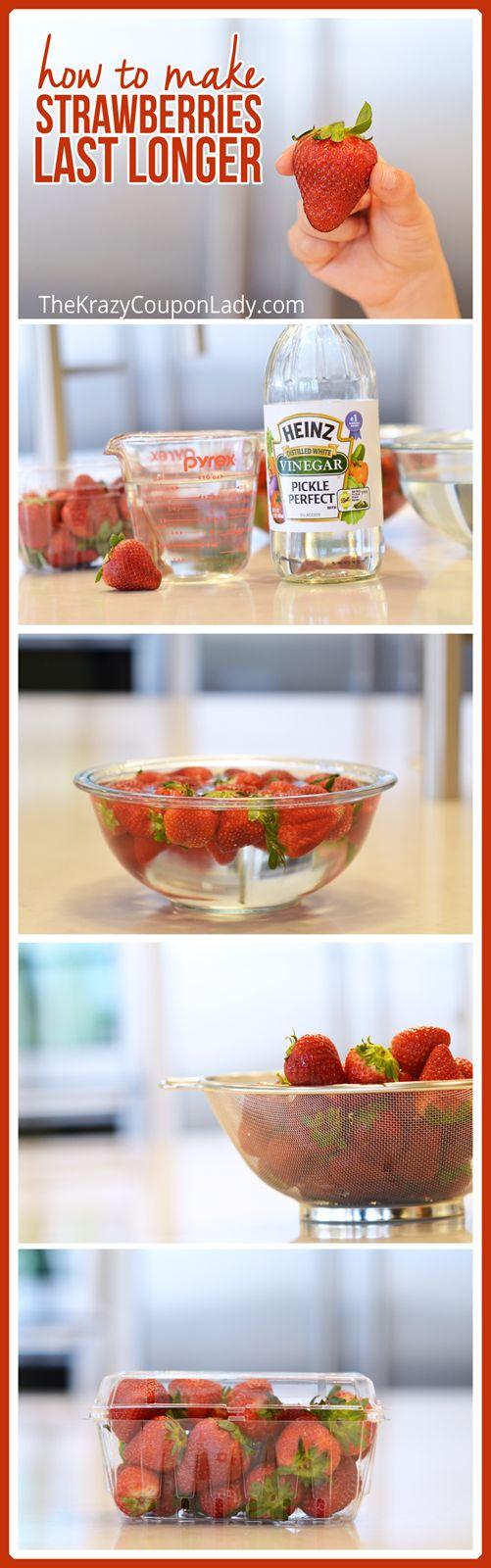 Dejar 10' en 3 medidas de agua+1 vinagre. Dejar secar bien. Guardarlas en su envase.Duran 8 días