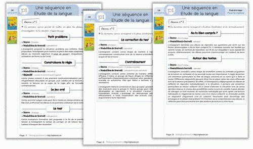 http://cycle3.orpheecole.com/2012/08/maitrise-de-la-langue-cm1cm2-plans-de-travail-interlignes/