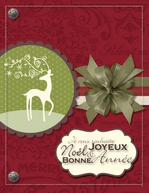 122 best vintage christmas style images on pinterest christmas my digital studio card i created the french greeting with photoshop elements and then imported it in my digital studio m4hsunfo Images