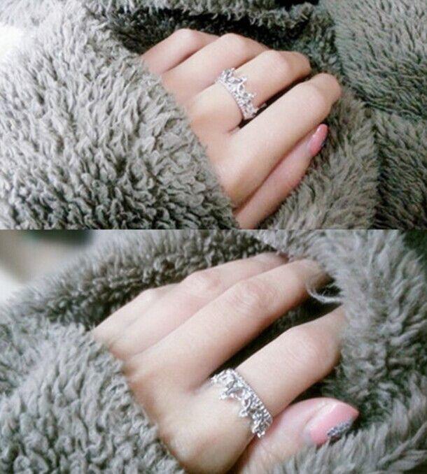 Estilo coreano temperamento rainha coroa em forma de broca oca Retro anéis para mulheres casamento jóias frete grátis em Anéis de Jóias no AliExpress.com   Alibaba Group
