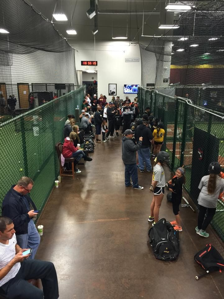 Pin By D Bat Peoria On Batting Cages Batting Cages Facility Baseball