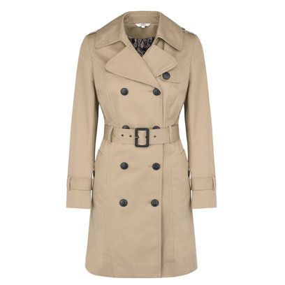 You can always rely on Marks & Spencer to do a classic well and they haven't disappointed with this trench coat. The slight A-line cut mixed with the belted waist provides a very flattering silhouette.Slight A Lin, Classic Trench Coats, Haven T Disappointment, Classic Well, Flattering Silhouettes, Cut Mixed, Belts Waist, A Lin Cut, Classic Style