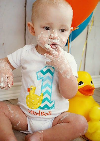 Rubber Duck First Birthday Shirt! Available in numbers 1-9. Monogrammed, Personalized. Perfect First Birthday Outfit. Cake Smash Shirt