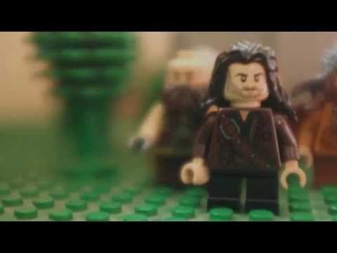 The Hobbit Desolation of Smaug Lego Trailer