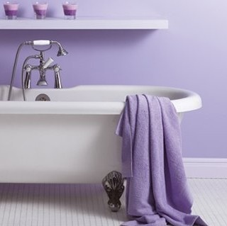 One one Lavender Bathroom design to start the board with..