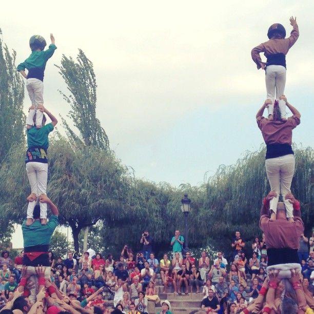 #SQVdeFesta Saballuts i Matossers a la Diada Castellera de Festa Major a #SQV
