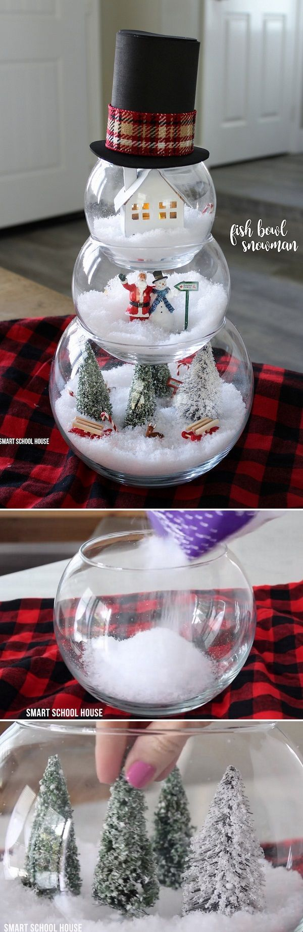Check out some awesome DIY Christmas decorations that you can make from Dollar Store items to decorate your home in a unique way on a budget.