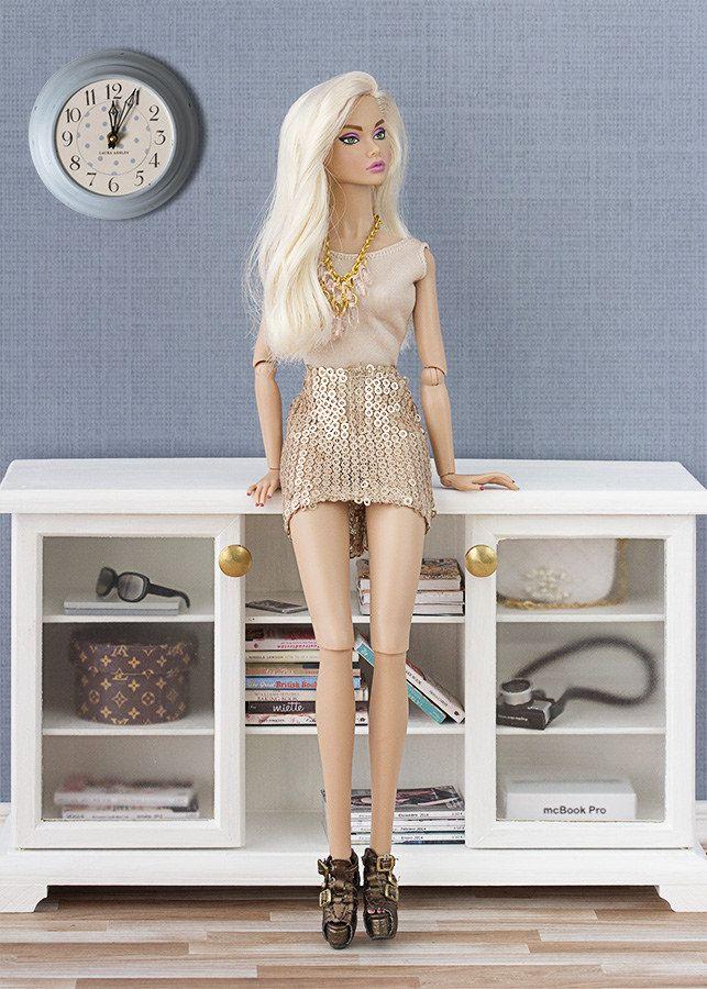 Barbie ropa y accesorios: Reroot de Poppy Parker