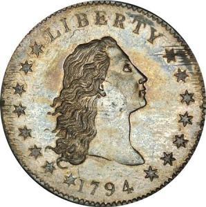 La prima moneta della zecca USA