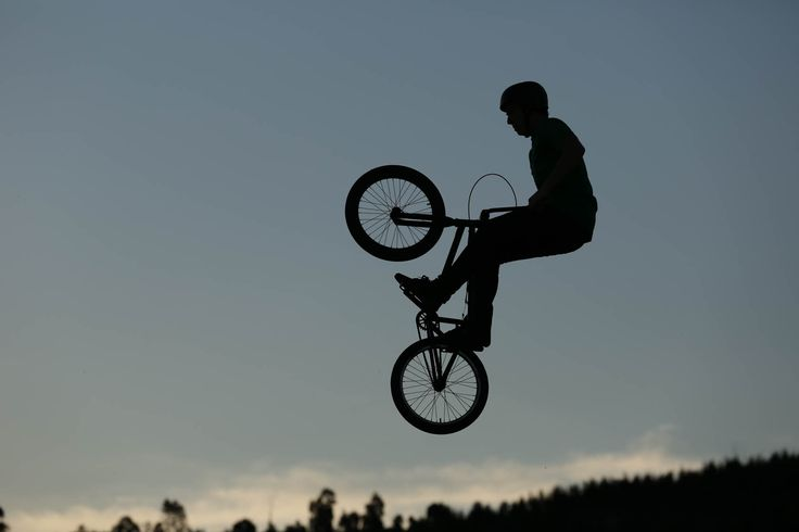 Silhouette of BMX rider taken on Canon EOS 5D Mark III DSLR camera https://www.camerasdirect.com.au/digital-cameras/digital-slr-cameras/canon-dslr-cameras