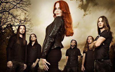 Scarica sfondi simone simons, solista, epica, olandese metal band