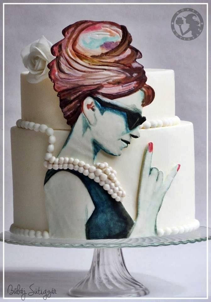 25+ best ideas about Hand Painted Cakes on Pinterest ...