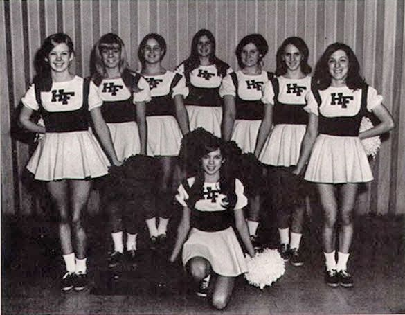 vintage everyday: Cheerleaders from 1966-67