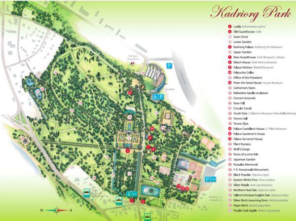Good Kadriorg Park Tallin Estonia