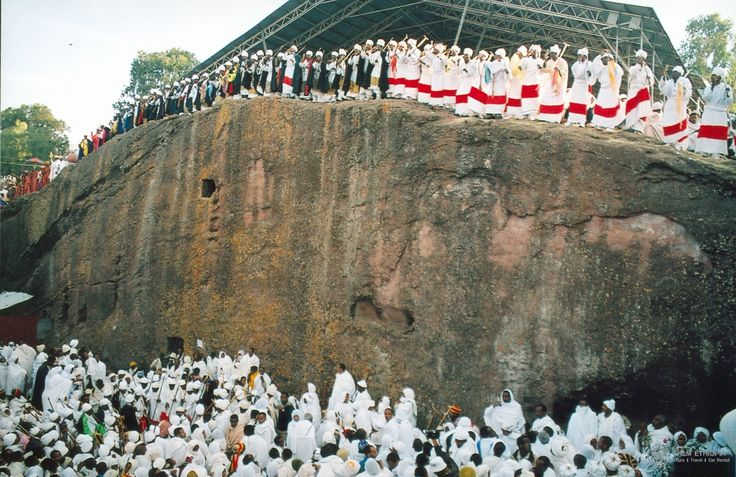#HappyEthiopianChristmas The New #Jerusalem, #Lalibela and #Christmas  Thanks to its monolithic rock-hewn churches, Lalibela has been placed on the global World Heritage Sites. Next to Axum, Lalibela is regarded as one of Ethiopia's holiest cities by Ethiopian Orthodox Christians.  Only a week left for the gigantic Christmas celebration is to be astounding in the monolithic churches of Lalibela.