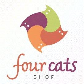 Four Cats logo