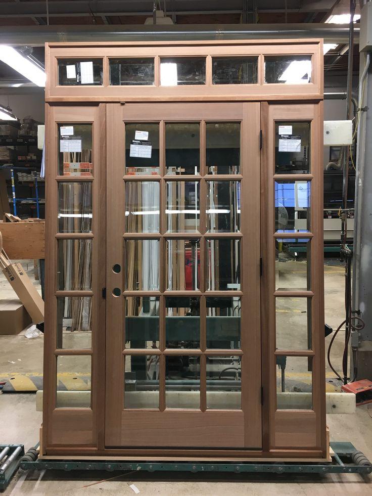 The BROSCO Portland shop worked hard to set up this beautiful @simpsondoorco door with 2 & 21 best Built By BROSCO images on Pinterest | Exterior doors ... pezcame.com