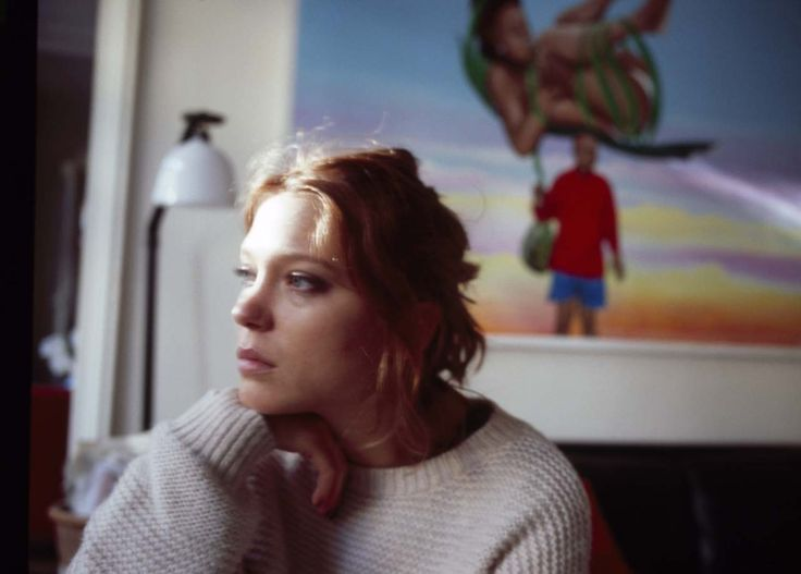 """Léa Seydoux, photographed by Nan Goldin for V magazine, winter 2013. """