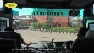 bus pariwisata suryaputra - YouTube