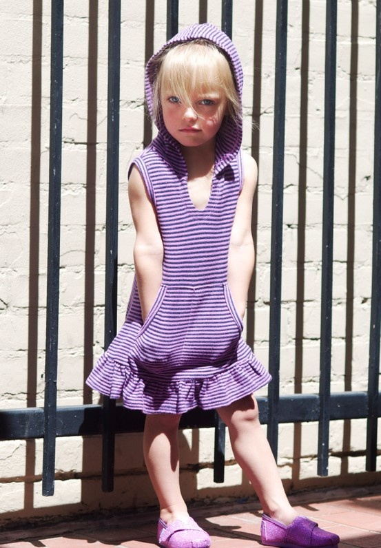 this #Splendid #dress is great for #spring/summer, add a pair of leggings and you can wear it any time! #KidsFashion  http://www.devlishangelz.ca/