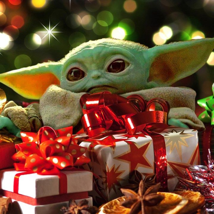 Disney Is Giving Us Baby Yoda Toys For Christmas Yoda Wallpaper Merry Christmas Baby Yoda Images