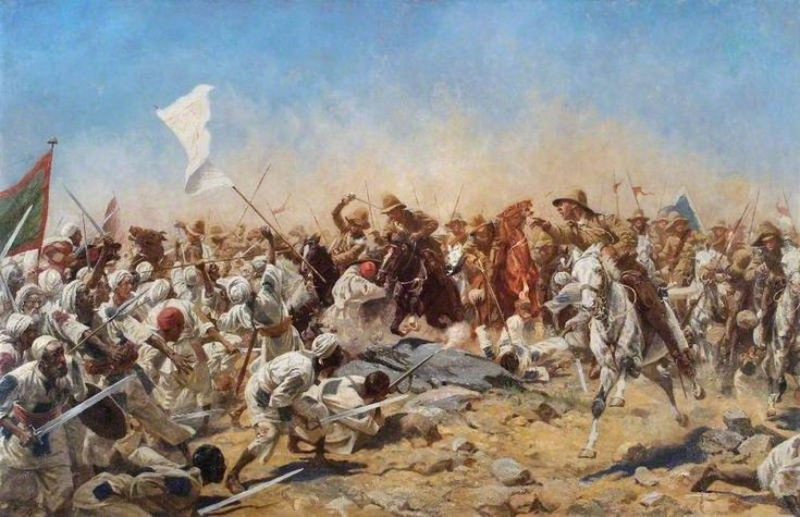 2 September 1898, Sir Herbert Kitchener's Anglo-Egyptian army decisively defeated the successor of the Mahdi Khalifa Abdullah Ibn-Mohammed's forces at the Battle of Omdurman, virtually ending the Mahdist War in Sudan and marking the transition from 19th to 20th century warfare.
