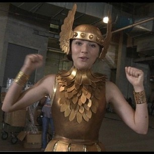 Clove's awesome costume