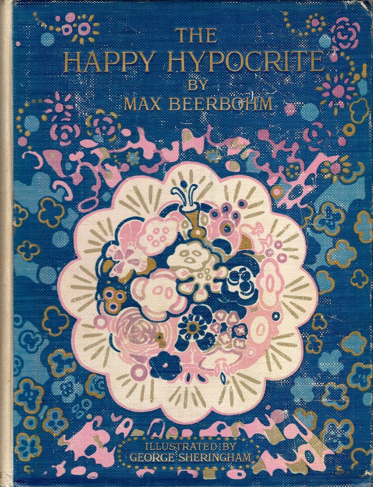 The Happy Hypocrite by Max Beerbohm, illustrated by George Sheringham, 1915