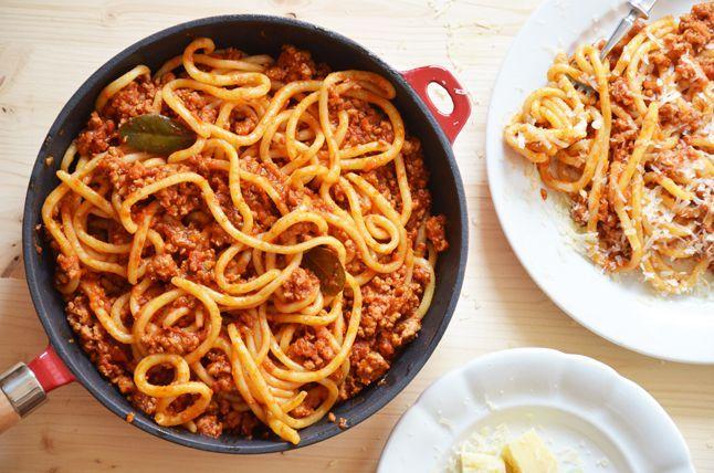 Kublanka vaří doma - Pici pasta s vepřovým ragú