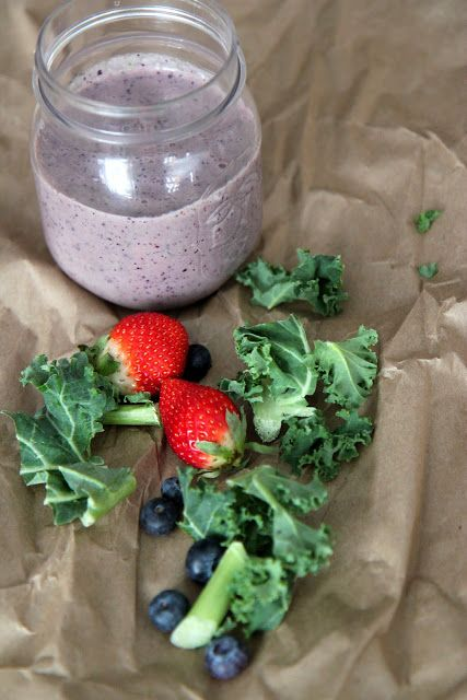 Deliciously Healthy Kale Fruit Smoothie Recipe. Get the recipe from Walmart's new ad!