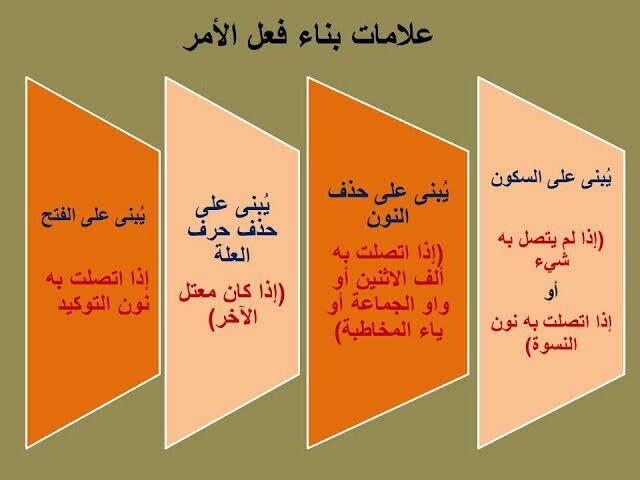 اعراب فعل الامر Arabic Kids School Frame Arabic Worksheets