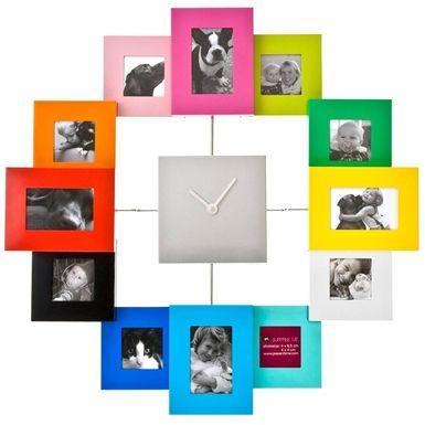 Saat Çerçeve 12li - 99 TL l #saat #cerceve #rengarenk