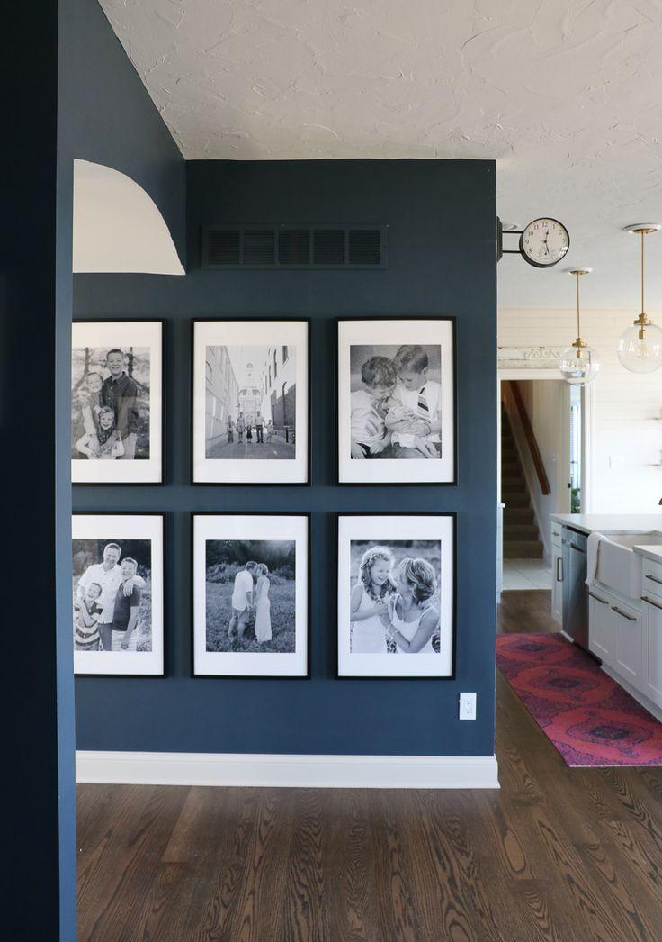 Große Fotogalerie-Wand