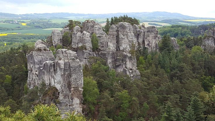 **Hruba Skala - Rock City (hiking area) - Turnov, Czech Republic