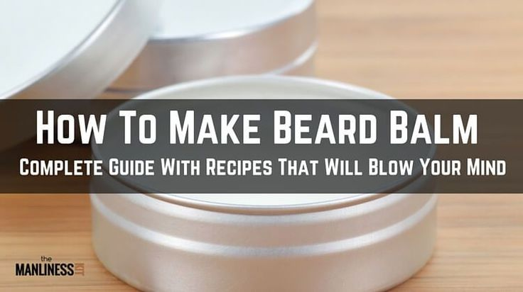 Wondered how to make beard balm? This DIY guide shows how simple is making homemade beard balm recipe with beeswax, butters, carrier oils, essentials oils