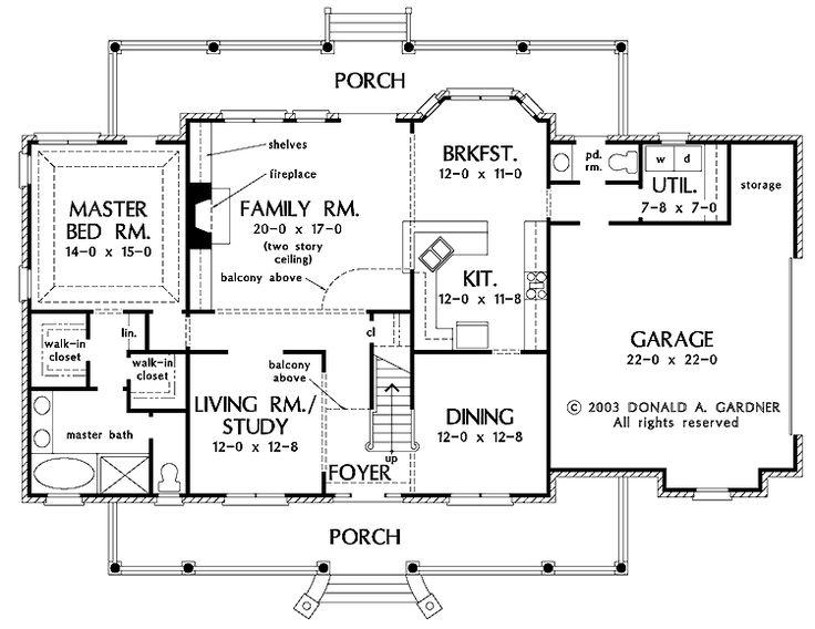 30 best House plans images on Pinterest | Dream house plans, House ...