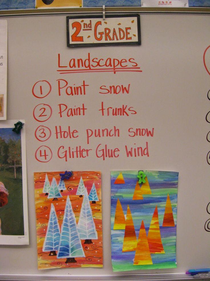 Jamestown Elementary Art Blog: 2nd Grade