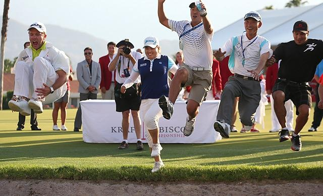 Inbee Park runs away with Kraft Nabisco for second career major title