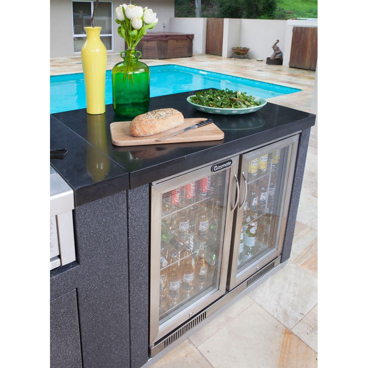 Gasmate Platinum II Islands are specifically designed to fit the Gasmate Platinum II series BBQ. These Gasmate Platinum II Islands provide a modern kitchen
