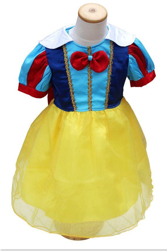 Snow White Dress  // Girls Tutu Dress Snow White by shopteetertots, $29.99
