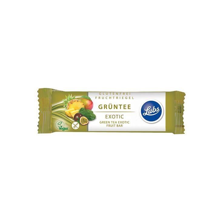 Barretta Tè Verde e Superfrutti biologica senza glutine Lubs-Lubs