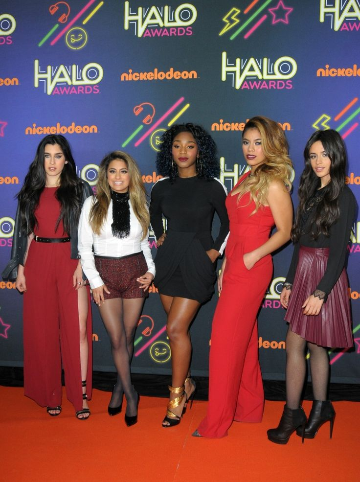 Fifth Harmony And The Vamps Nickelodeon's HALO Awards 2014 Arrival Pictures - http://oceanup.com/2014/11/15/fifth-harmony-and-the-vamps-nickelodeons-halo-awards-2014-arrival-pictures/