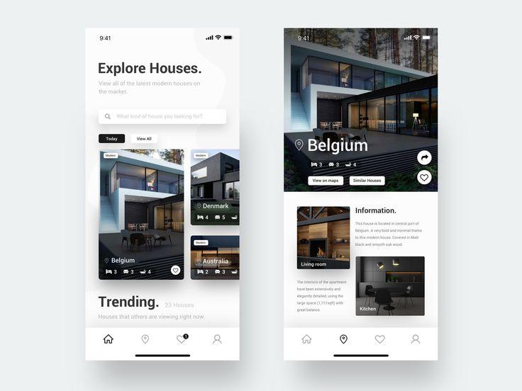 Modern House App
