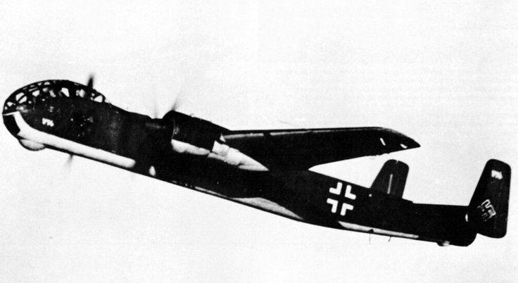 Junkers Ju 288 bomber.