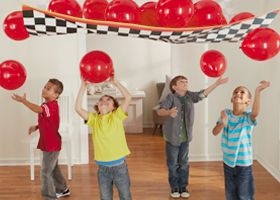Image result for cars balloon drop