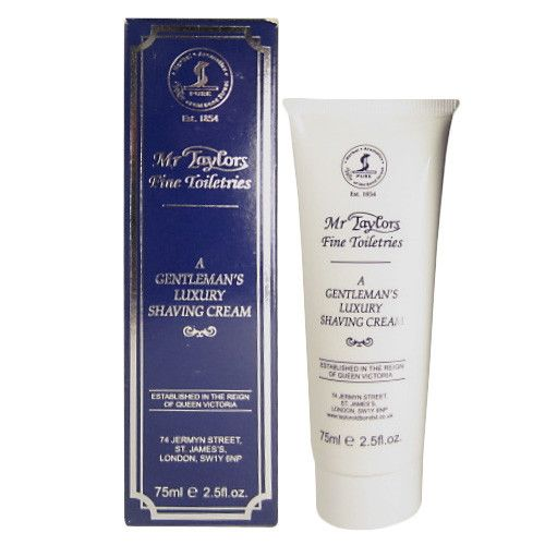 Taylor of Old Bond Street Classic Shaving Cream Travel Tube, Mr Taylors