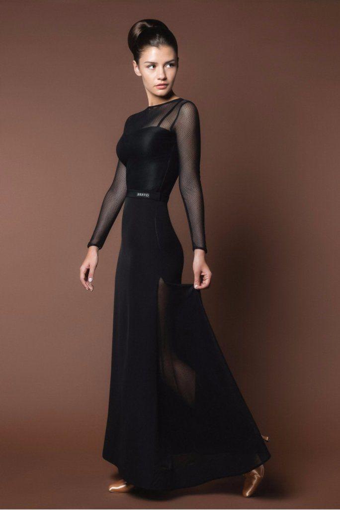 A beautiful Ballroom Dance Dress for practice, performance & DanceSport.