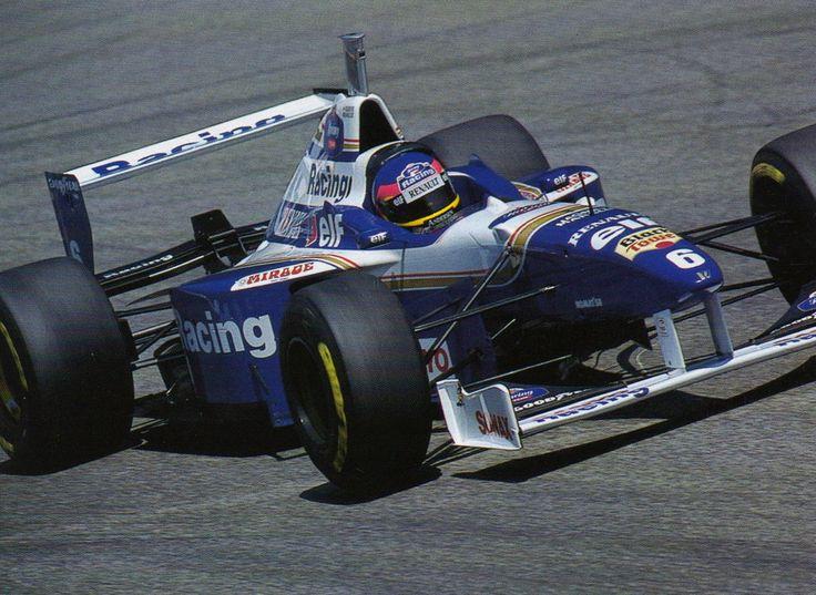 Jacques Villeneuve  Williams FW18 - Renault RS8 3.0 V10.1996